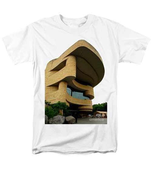 National Museum Of The American Indian 1 Men's T-Shirt  (Regular Fit) by Randall Weidner