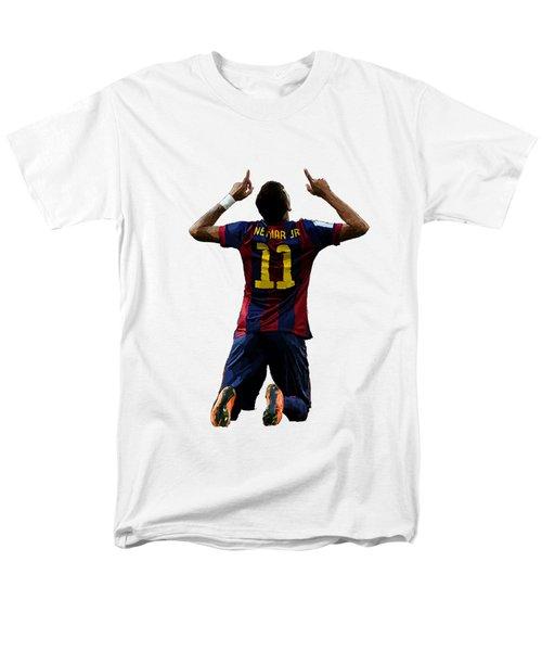 Neymar Men's T-Shirt  (Regular Fit) by Armaan Sandhu