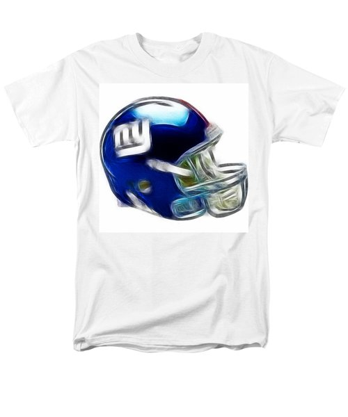 NY Giants Helmet - fantasy art T-Shirt by Paul Ward