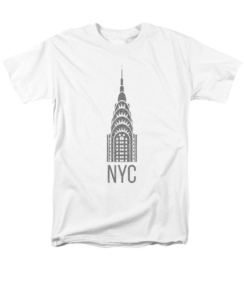 Nyc New York City Graphic Men's T-Shirt  (Regular Fit) by Edward Fielding
