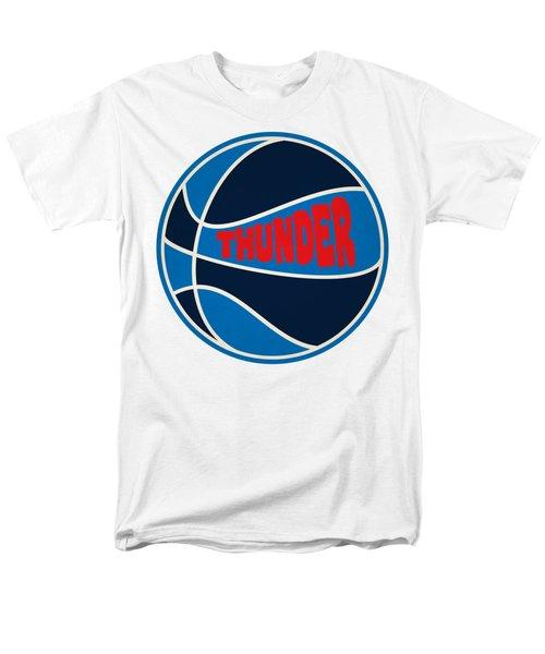 Oklahoma City Thunder Retro Shirt Men's T-Shirt  (Regular Fit) by Joe Hamilton
