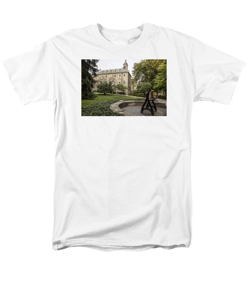 Old Main Penn State Bell  Men's T-Shirt  (Regular Fit) by John McGraw