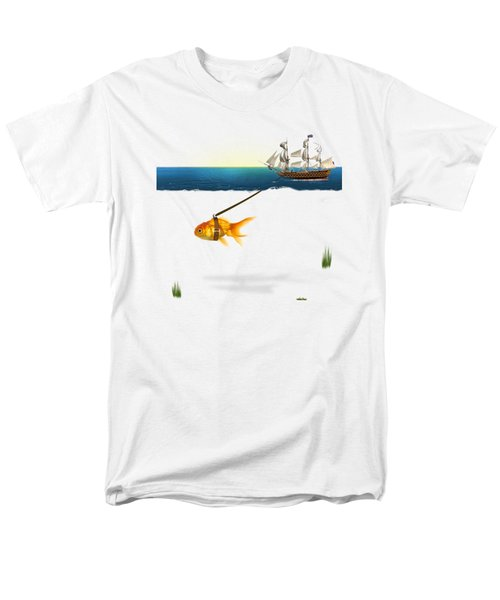 On The Way  Men's T-Shirt  (Regular Fit) by Mark Ashkenazi