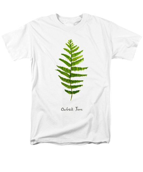 Ostrich Fern Men's T-Shirt  (Regular Fit) by Color Color
