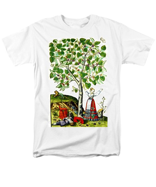 Ovids Pyramus And Thisbe Myth T-Shirt by Photo Researchers