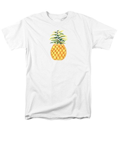 Pineapple Men's T-Shirt  (Regular Fit) by Kathleen Sartoris