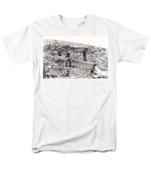 PLACER GOLD MINING c. 1889 T-Shirt by Daniel Hagerman