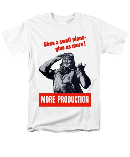 Plane Production Give Us More T-Shirt by War Is Hell Store