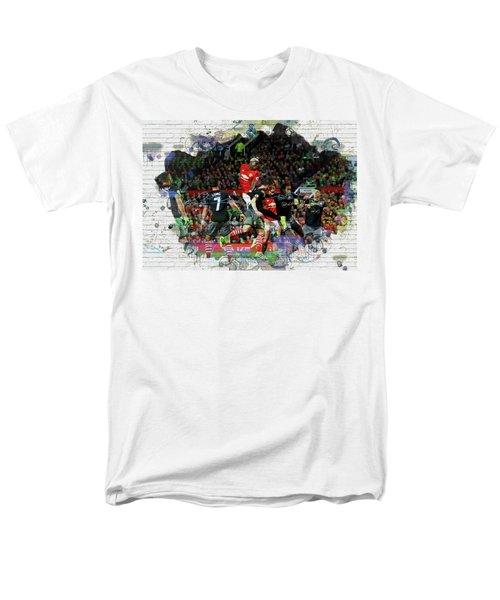 Pogba Street Art Men's T-Shirt  (Regular Fit) by Don Kuing