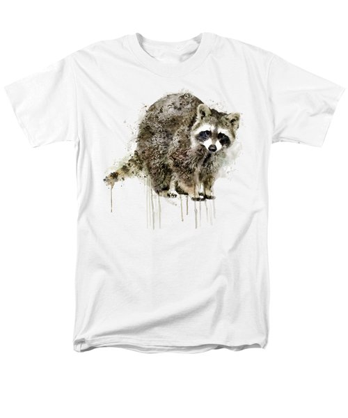 Raccoon Men's T-Shirt  (Regular Fit) by Marian Voicu