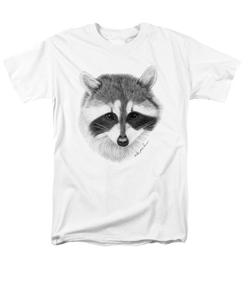 Raccoon Men's T-Shirt  (Regular Fit) by Rita Palmer