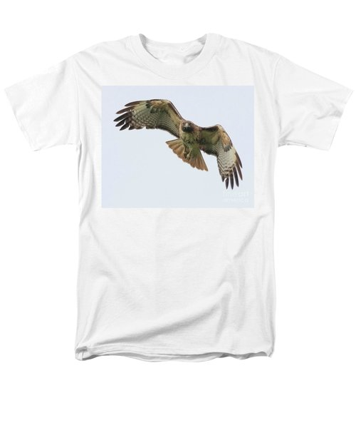 Red Tailed Hawk Finds Its Prey T-Shirt by Wingsdomain Art and Photography