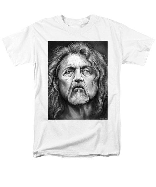 Robert Plant Men's T-Shirt  (Regular Fit) by Greg Joens