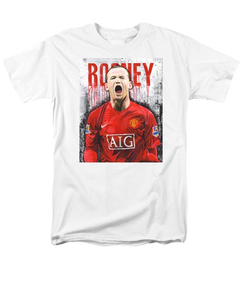 Rooney Men's T-Shirt  (Regular Fit) by Jeff Gomez