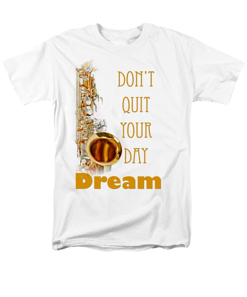Saxophone Fine Art Photographs Art Prints 5019.02 Men's T-Shirt  (Regular Fit) by M K  Miller