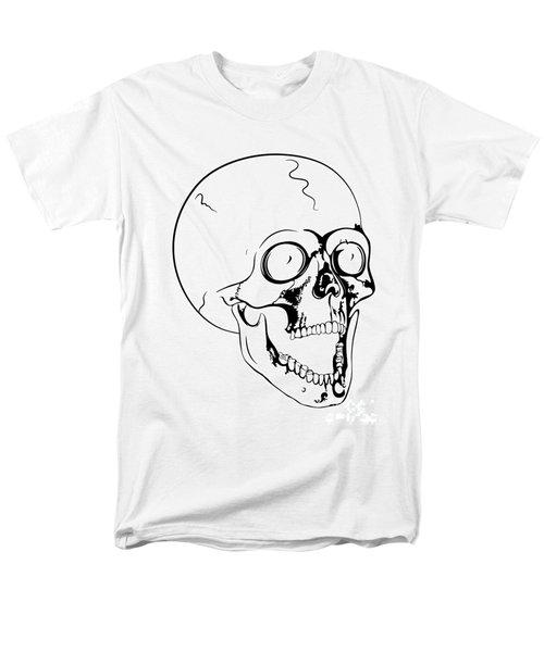 screaming skull T-Shirt by Michal Boubin