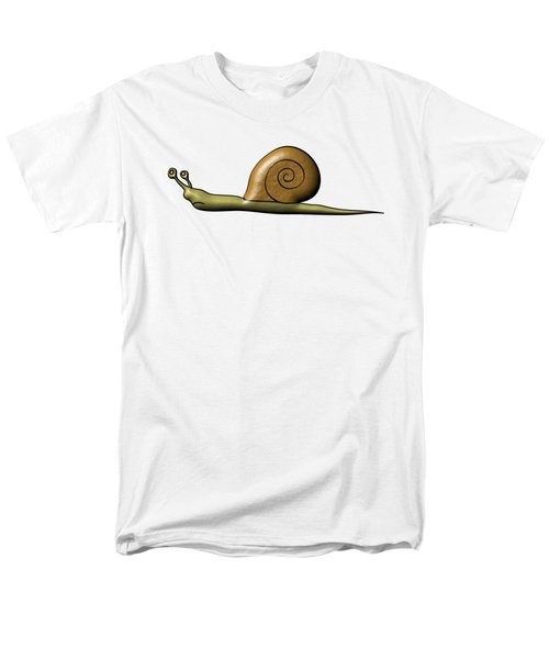 Snail Men's T-Shirt  (Regular Fit) by Michal Boubin