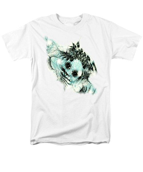 Snowy Owl Men's T-Shirt  (Regular Fit) by Anastasiya Malakhova