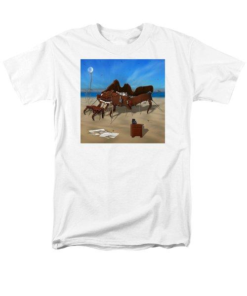 Softe Grand Piano Se Sq Men's T-Shirt  (Regular Fit) by Mike McGlothlen