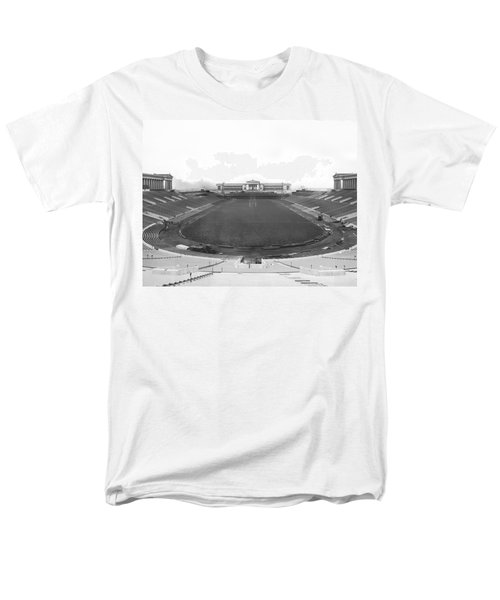 Soldier Field In Chicago Men's T-Shirt  (Regular Fit) by Underwood Archives