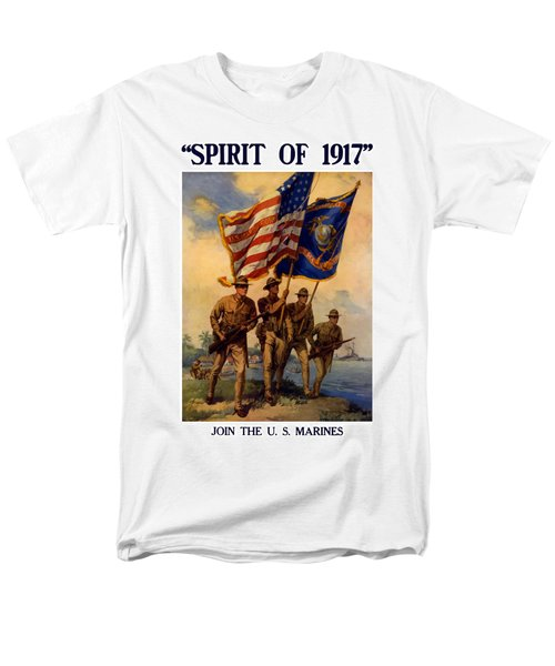 Spirit Of 1917 - Join The US Marines  T-Shirt by War Is Hell Store