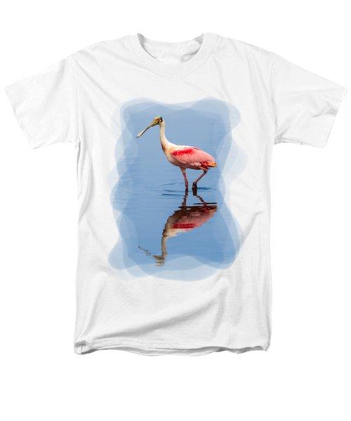 Spoonbill 3 Men's T-Shirt  (Regular Fit) by John M Bailey