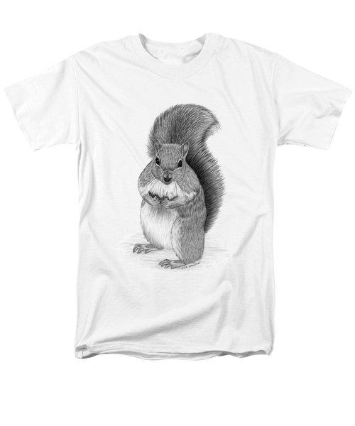 Squirrel Men's T-Shirt  (Regular Fit) by Rita Palmer