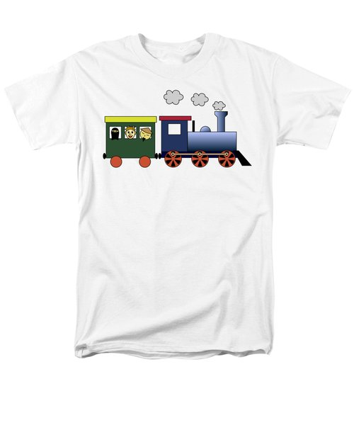 Steam Train Men's T-Shirt  (Regular Fit) by Miroslav Nemecek