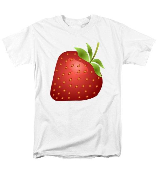 Strawberry Fruit Men's T-Shirt  (Regular Fit) by Miroslav Nemecek