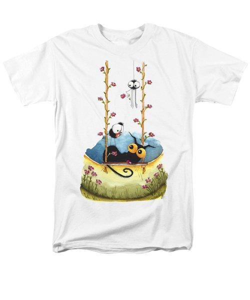 Summer Swing Men's T-Shirt  (Regular Fit) by Lucia Stewart