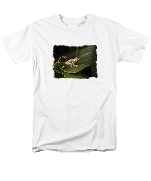 Surfing The Wave Bordered Men's T-Shirt  (Regular Fit) by Debra and Dave Vanderlaan