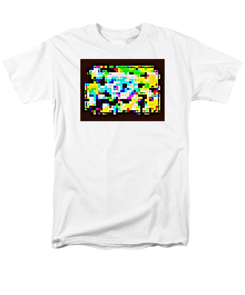 Techno Rainbow Men's T-Shirt  (Regular Fit) by Andy Rhodes