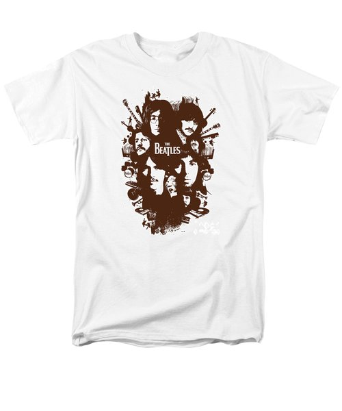 The Beatles No.15 T-Shirt by Caio Caldas