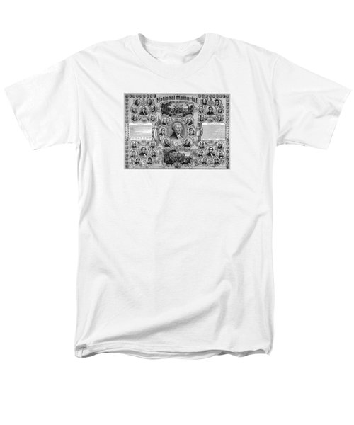 The Great National Memorial Men's T-Shirt  (Regular Fit) by War Is Hell Store
