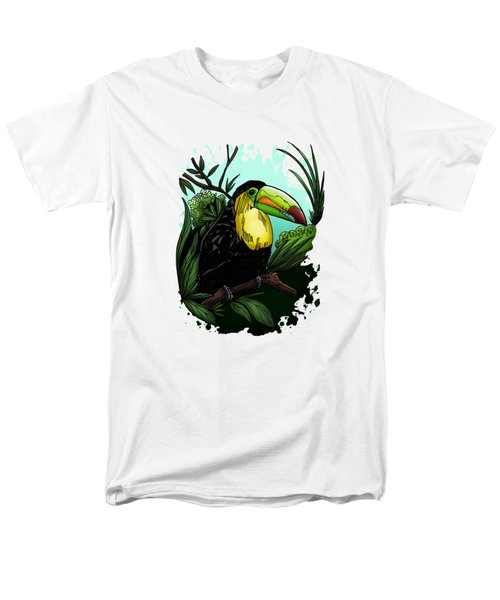 Toucan Men's T-Shirt  (Regular Fit) by Adam Santana