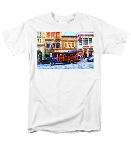 Touring The Streets of San Francisco . Photo Artwork T-Shirt by Wingsdomain Art and Photography