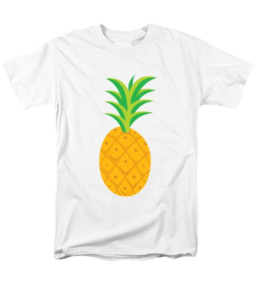 Tropical Fruits Ananas Pineapple Men's T-Shirt  (Regular Fit) by MGdezigns