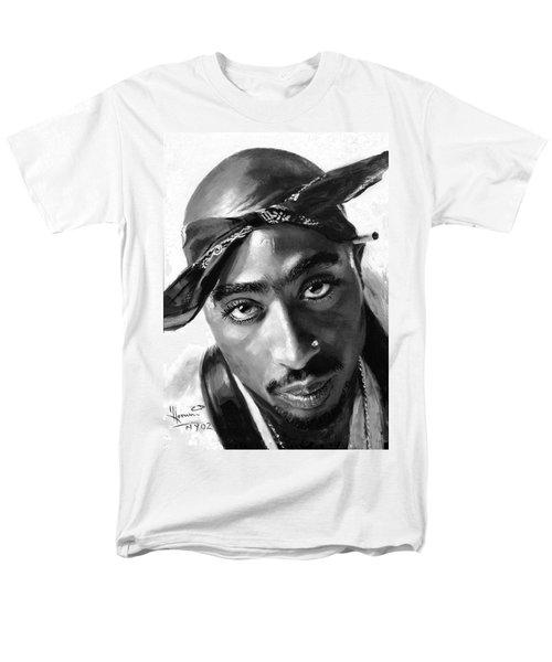 Tupac Shakur T-Shirt by Ylli Haruni