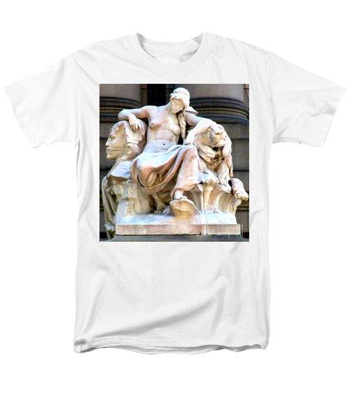 U S Custom House 3 Men's T-Shirt  (Regular Fit) by Randall Weidner