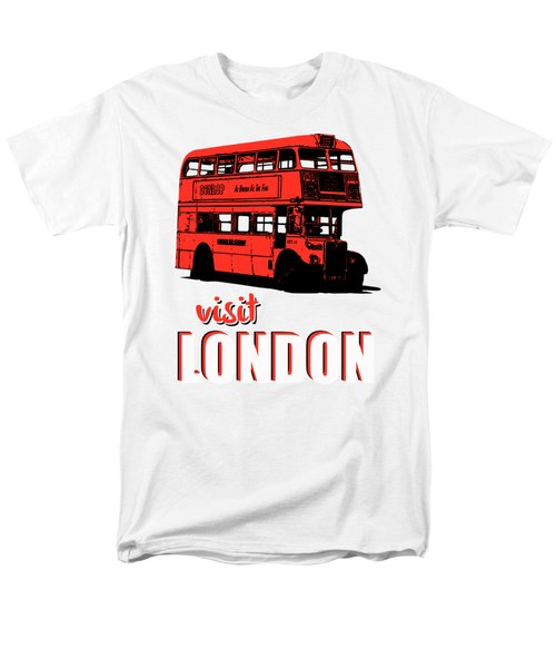 Visit London Tee Men's T-Shirt  (Regular Fit) by Edward Fielding