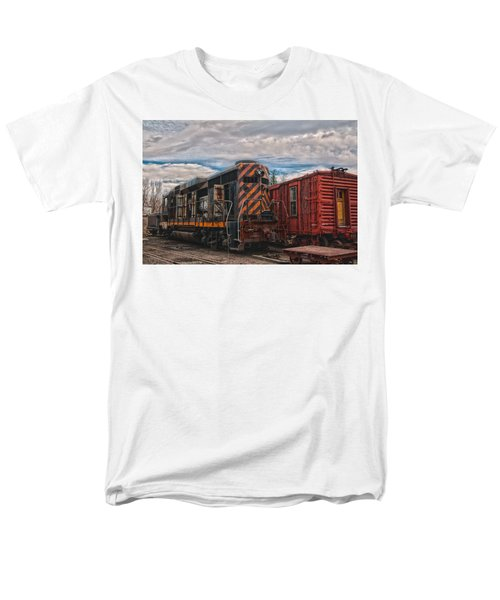 Waiting For Work Men's T-Shirt  (Regular Fit) by Michael Connor