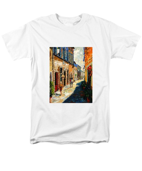 Warmth Of A Barcelona Street Men's T-Shirt  (Regular Fit) by Andre Dluhos