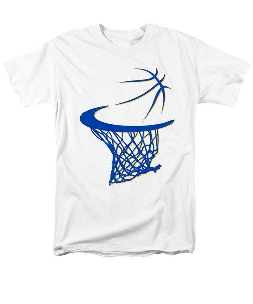 Warriors Basketball Hoop Men's T-Shirt  (Regular Fit) by Joe Hamilton