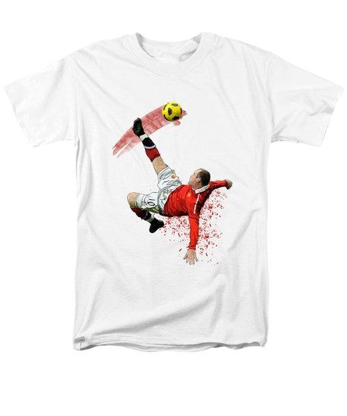 Wayne Rooney Men's T-Shirt  (Regular Fit) by Armaan Sandhu
