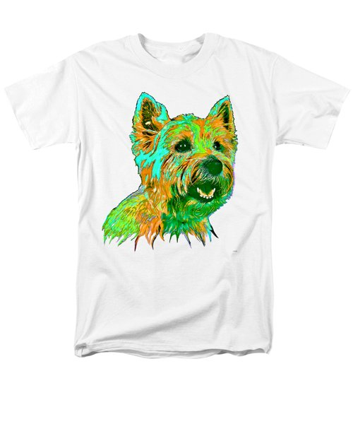 West Highland Terrier Men's T-Shirt  (Regular Fit) by Marlene Watson