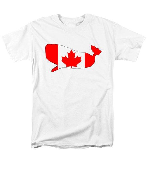 Whale Canada Men's T-Shirt  (Regular Fit) by Mordax Furittus