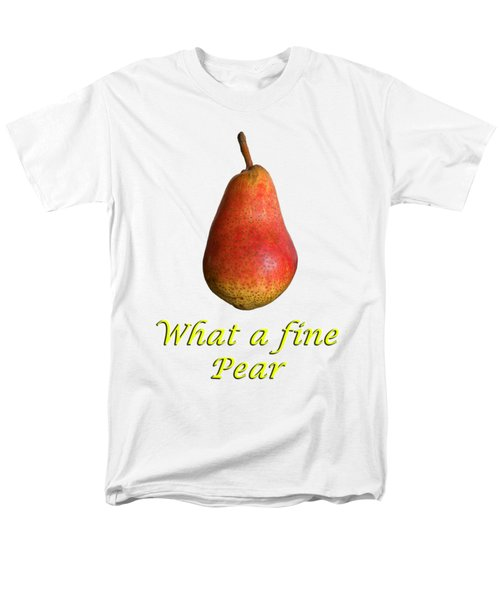What A Fine Pear Men's T-Shirt  (Regular Fit) by Gillian Singleton