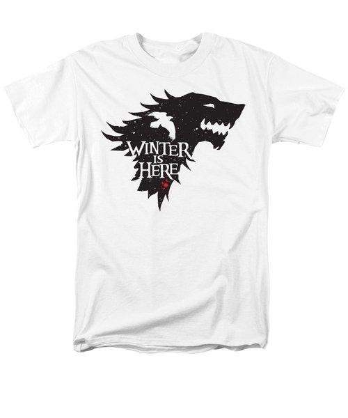 Winter Is Here Men's T-Shirt  (Regular Fit) by Edward Draganski