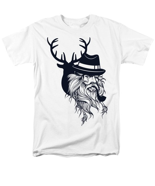 Wise Wild Men's T-Shirt  (Regular Fit) by Argd