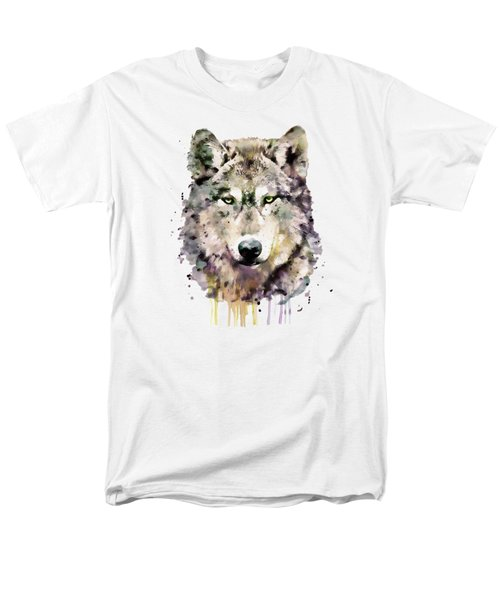 Wolf Head Men's T-Shirt  (Regular Fit) by Marian Voicu